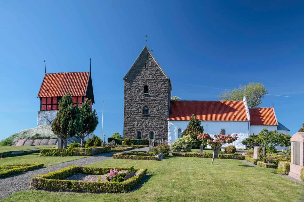 Kirche auf Bornholm
