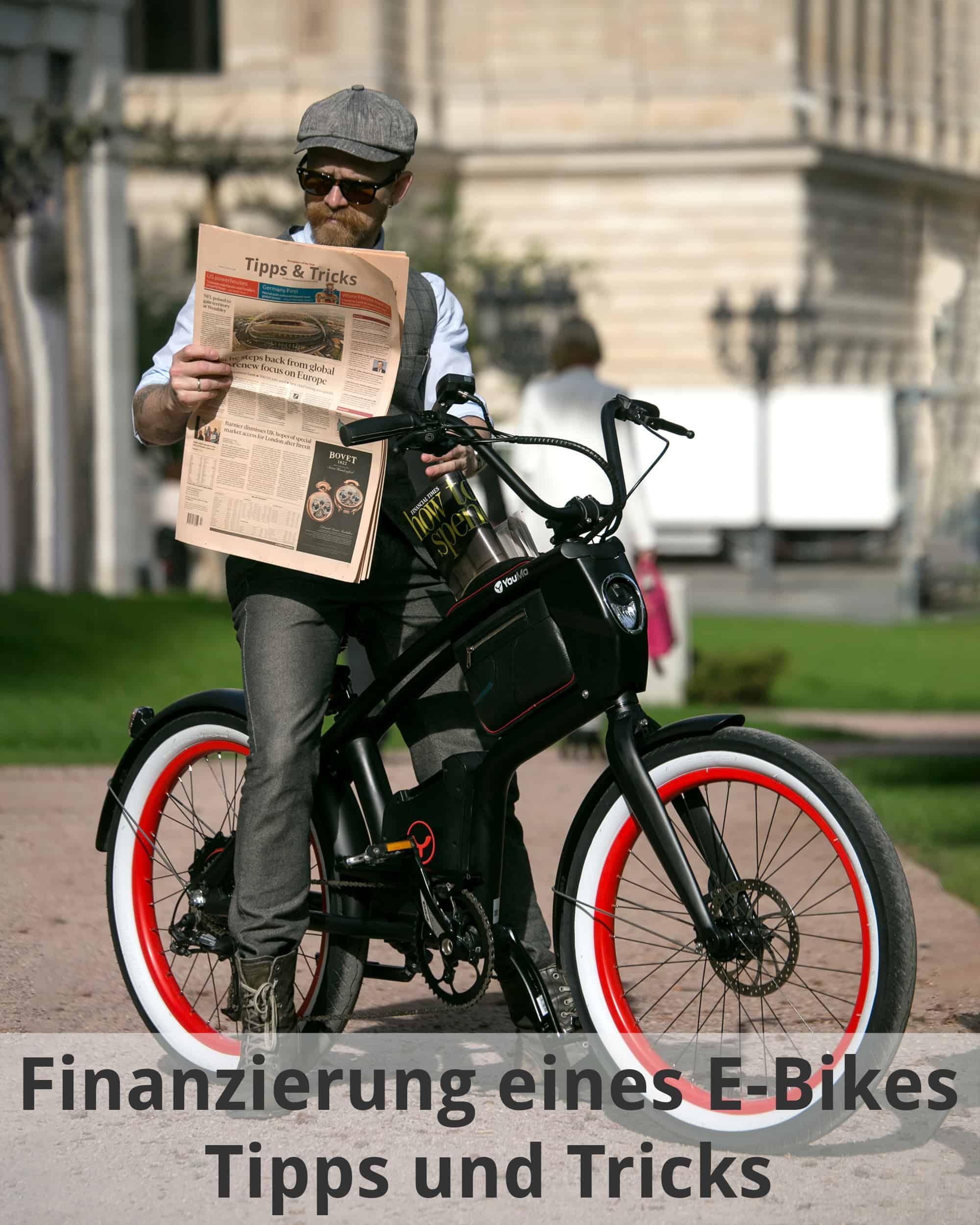 Dank E-Bike Finanzierung kannst auch du dich bald bei uns beraten lassen.
