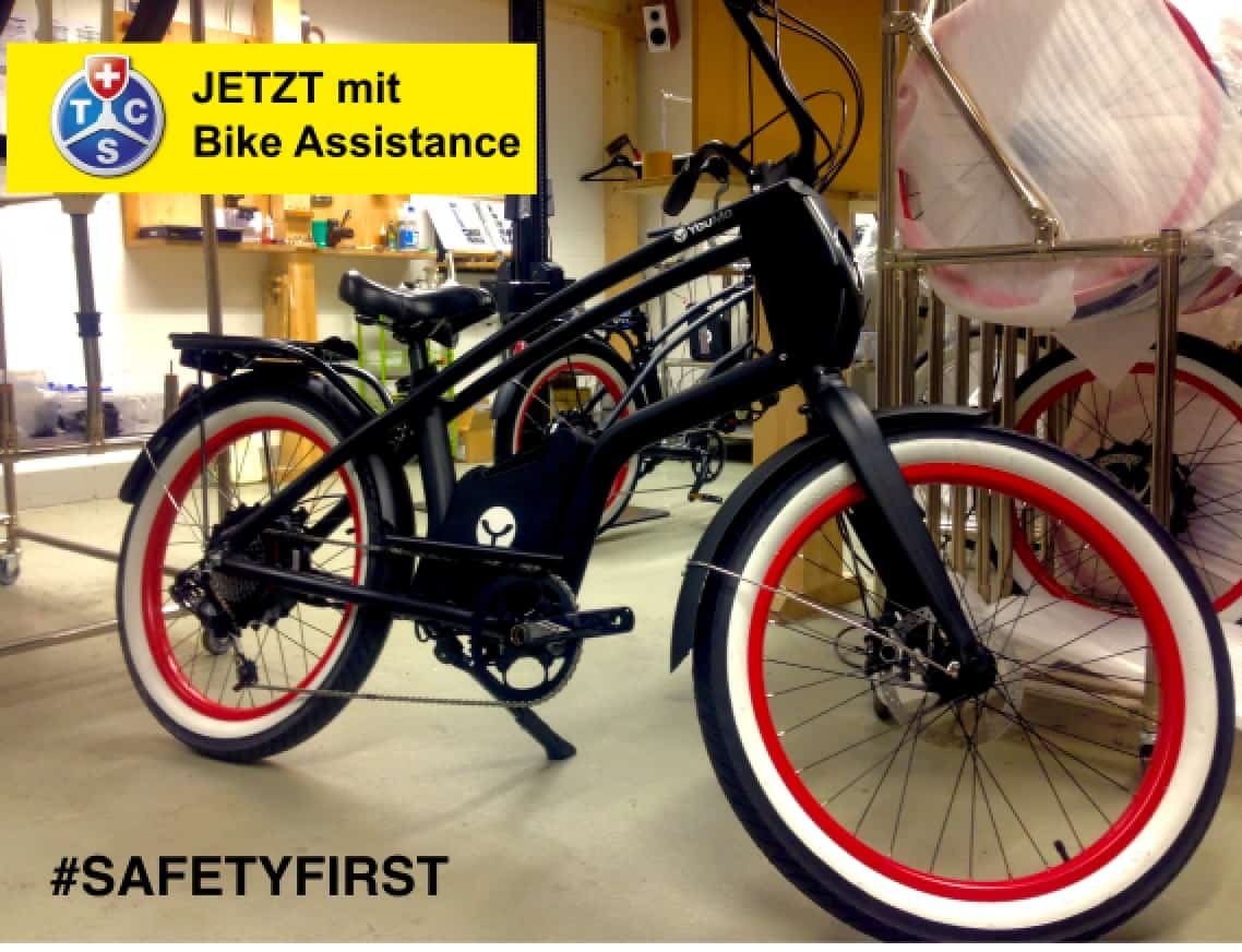 YouMo eBike Service inkl. TCS Bike Assistance