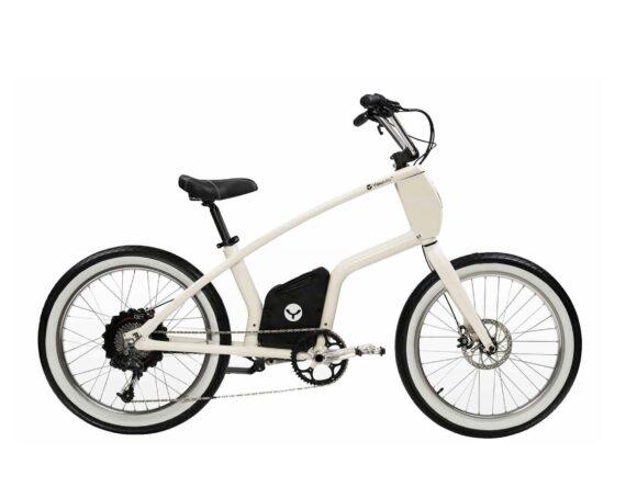 YouMo E-Bike One P weiss