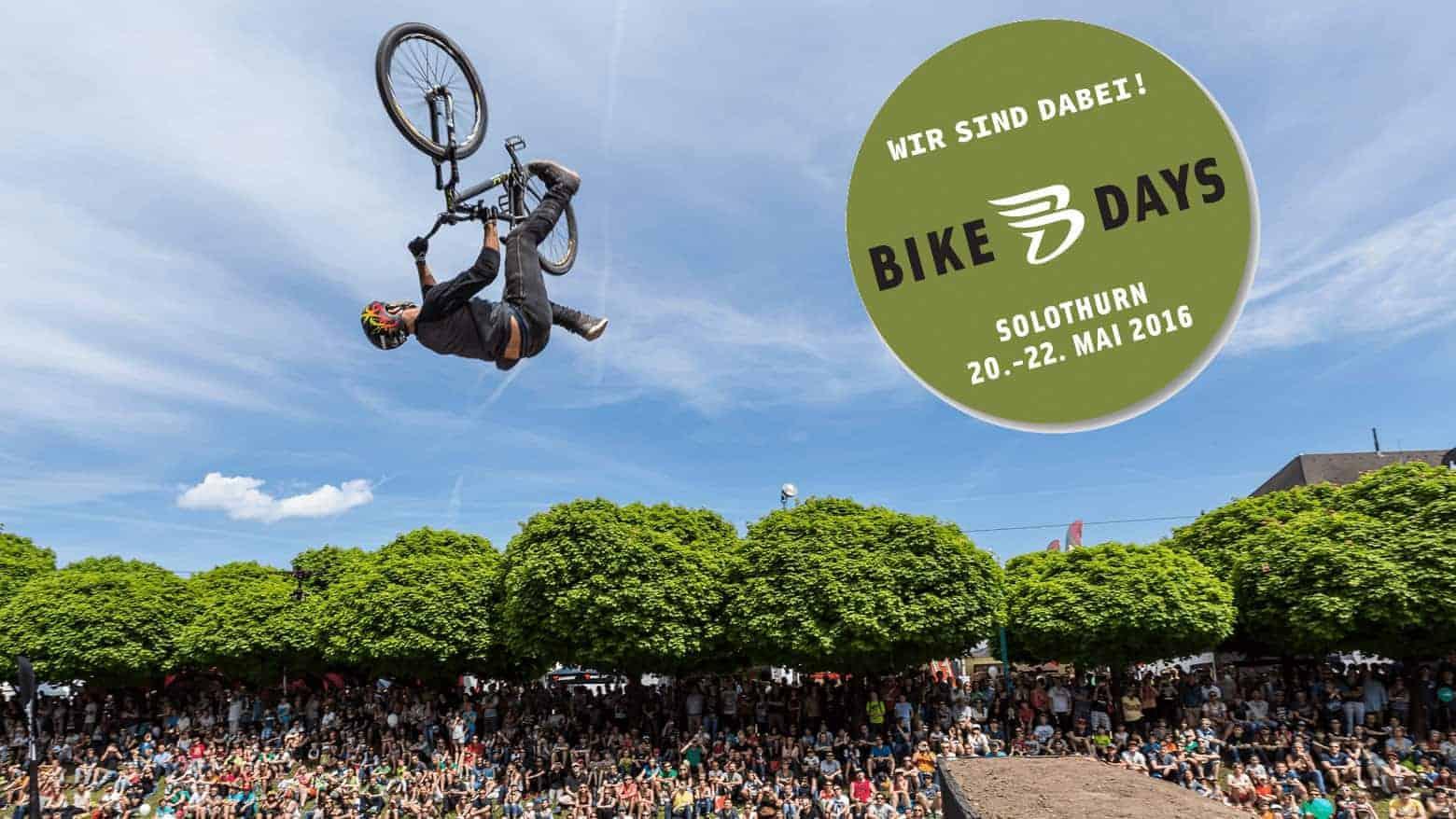 Bike Days 2016 - YouMo ist dabei!