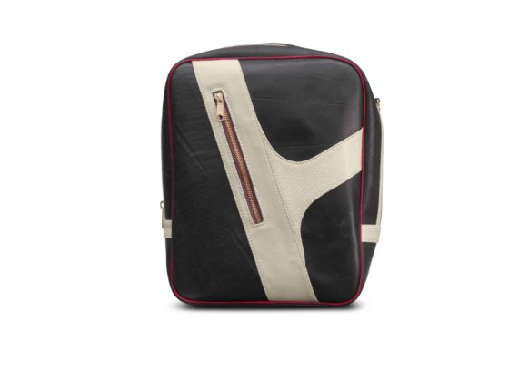 Schelm Seitentasche für den Gepäckträger E-Bike weiss