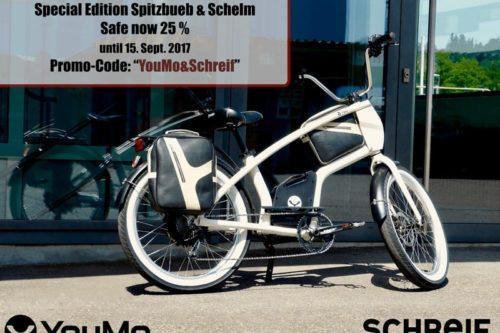 Mehr als Fahrrad-Gepäcktaschen: Schelme und Spitzbuben