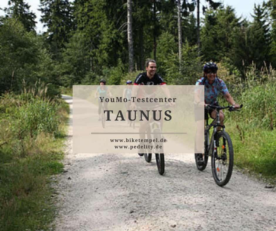YouMo Testcenter Taunus E-Bike Verleih