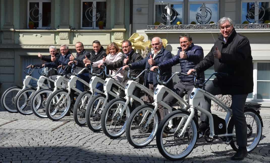 Sportliches E-Bike YouMo ZürichseeLinth