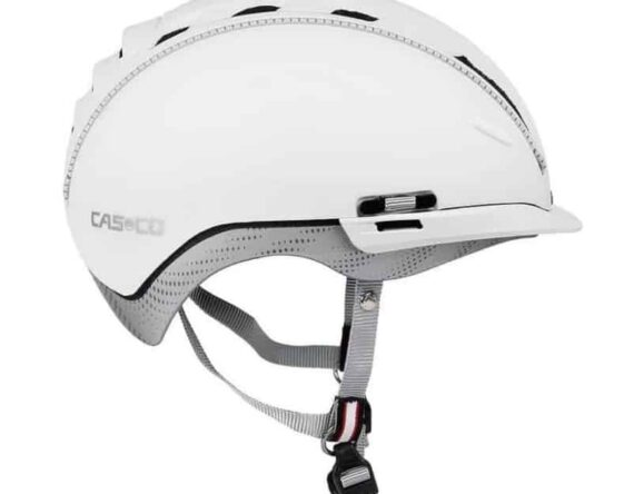 fahhradhelm casco roadster weiss