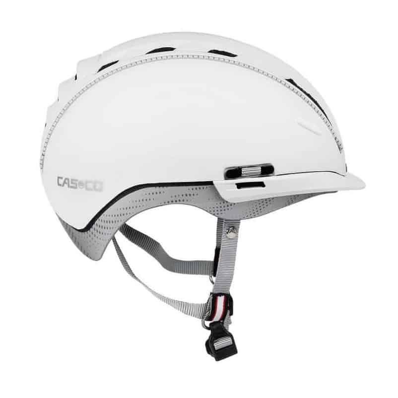 fahhradhelm casco weiss