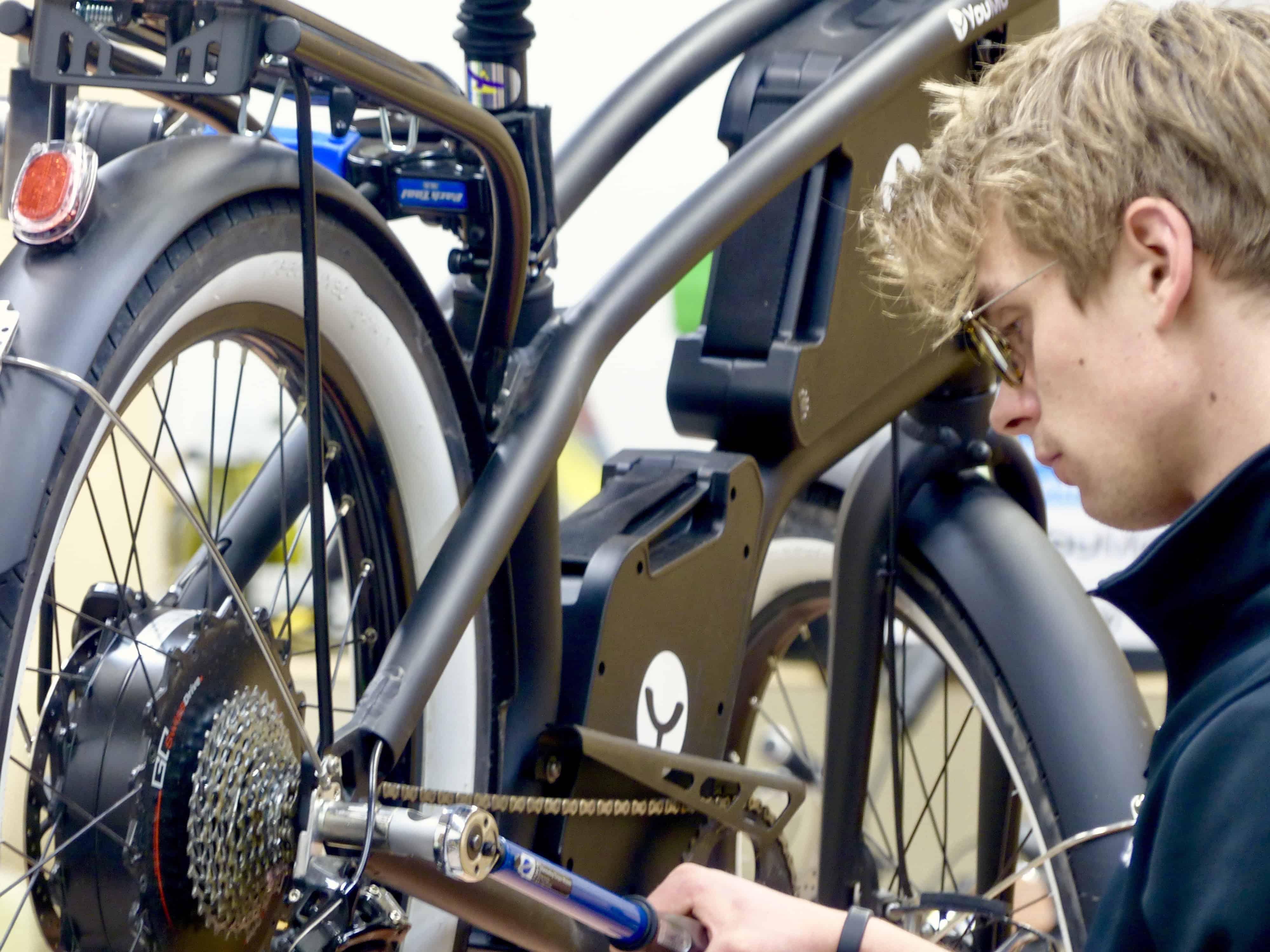 YouMo E-Bike selbst reparieren