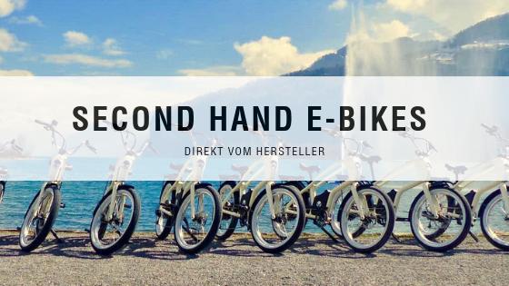 Second Hand E-Bikes YouMo