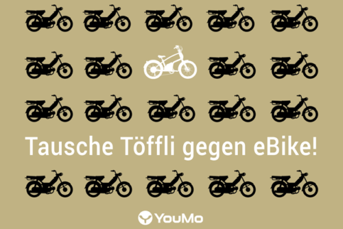 Tausche Töffli gegen E-Bike youmo.ch