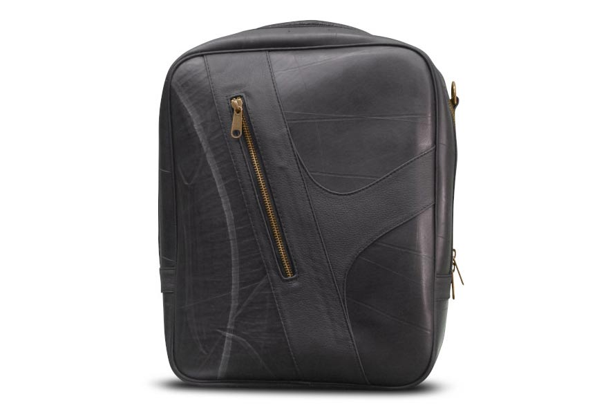 Schreif-Seitentasche-Schelm-(Schwarz-(normal-mit-schwarzem-Leder))